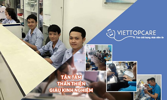 Trung tâm sửa chữa điện thoại Vietttopcare
