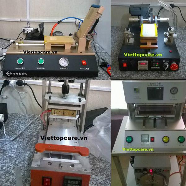 Bộ máy ép mặt kính Viettopcare