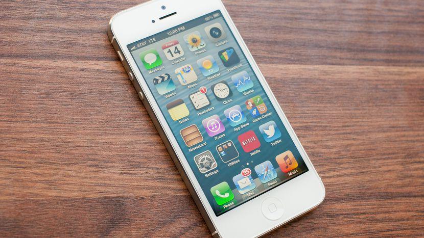 Iphone 5 bị nhòe màn hình vì sao lại thế ?