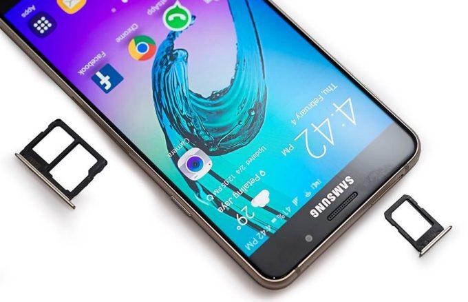 Khắc phục Samsung Galaxy A7/ A7 2016 không nhận sim