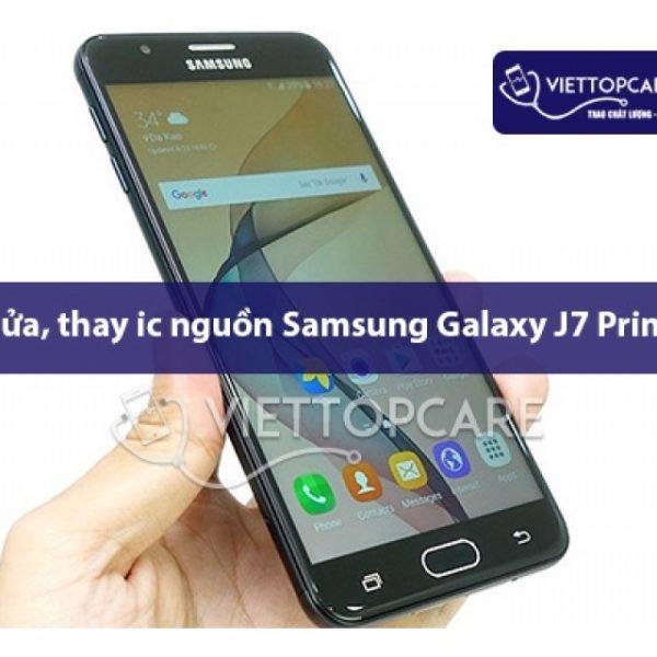 Khắc phục Samsung Galaxy J7 Prime bị hư IC nguồn 2