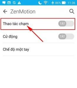 Mở màn hình Zenfone 3 chỉ trong một nốt nhạc