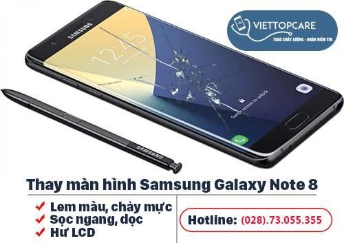 Thay màn hình Samsung Galaxy Note 8 chính hãng nhanh chóng