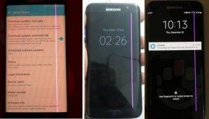 Vận đen của Samsung vẫn chưa hết: S7 Edge bị tố lỗi sọc màn hình