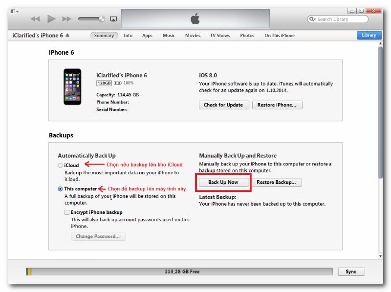 5 bước khắc phục màn hình iphone 6 bị đen (lỗi DFU)