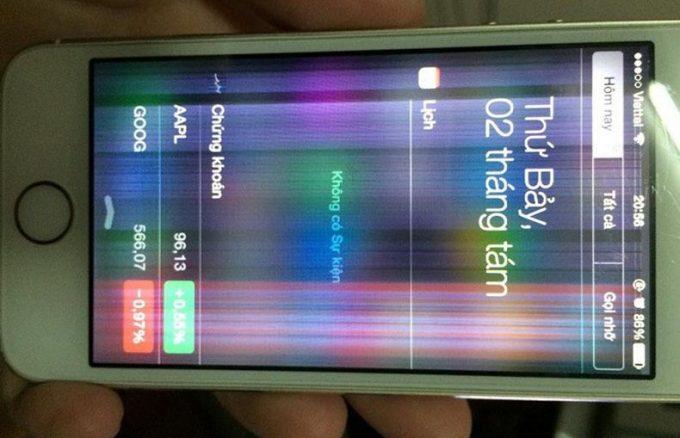 Cách khắc phục màn hình iPhone 6 bị sọc hiệu quả nhất