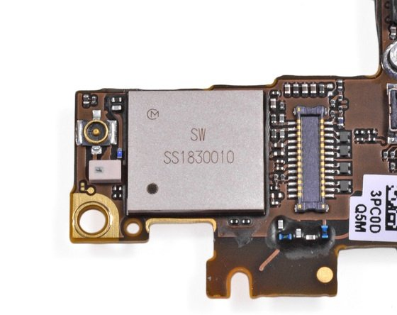 iPhone 5/5s bị hư IC wifi