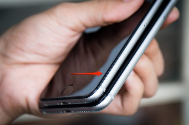 Iphone 6 plus bị hở màn hình- Nên làm gì ?