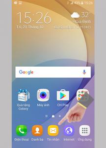 Khắc phục lỗi không gửi được tin nhắn trên Galaxy J7 Prime và tình trạng điện thoại không nhận SIM