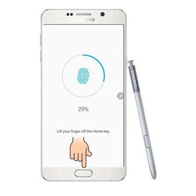 Khắc phục Galaxy Note 5 bị lỗi cảm biến vân tay nhanh chóng