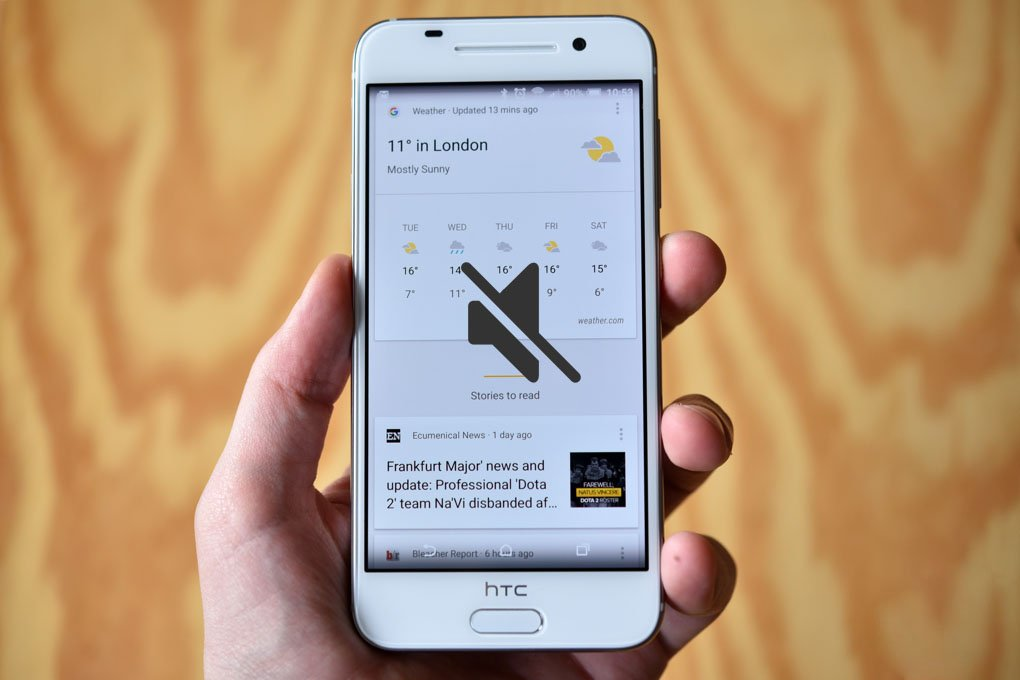 Làm sao sửa lỗi điện thoại HTC bị mất âm thanh?