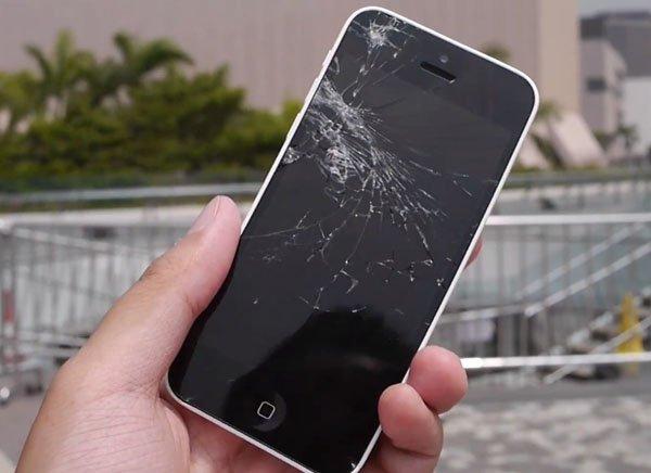 Nguyên nhân, cách xử lý khi mặt kính màn hình iPhone 6/ 6 Plus bị vỡ, hỏng, liệt cảm ứng