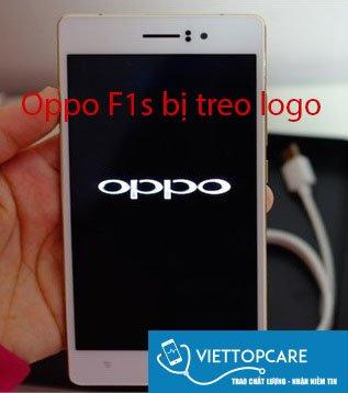 oppo f1s bị treo logo