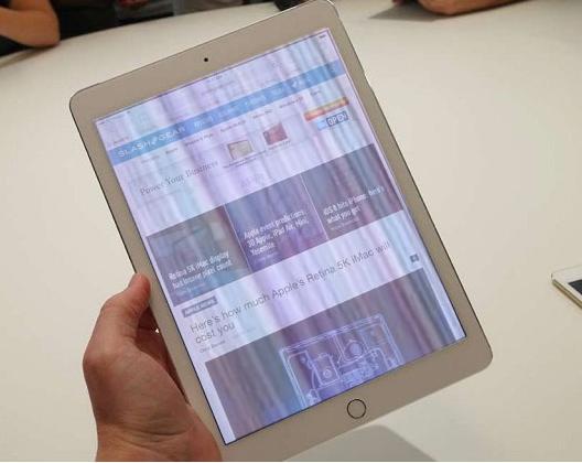 Một vài cách hồi màn hình iPad hỏng