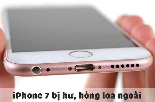 Sửa lỗi iPhone 7 bị hư, hỏng loa ngoài chính hãng, giá tốt tại HCM, Hà Nội