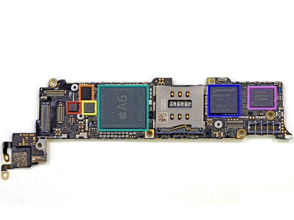 IC Sạc iPhone 7 nằm trên bộ main mạch