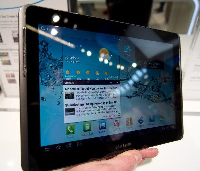 Thay màn hình Samsung Galaxy Tab 2 7.0