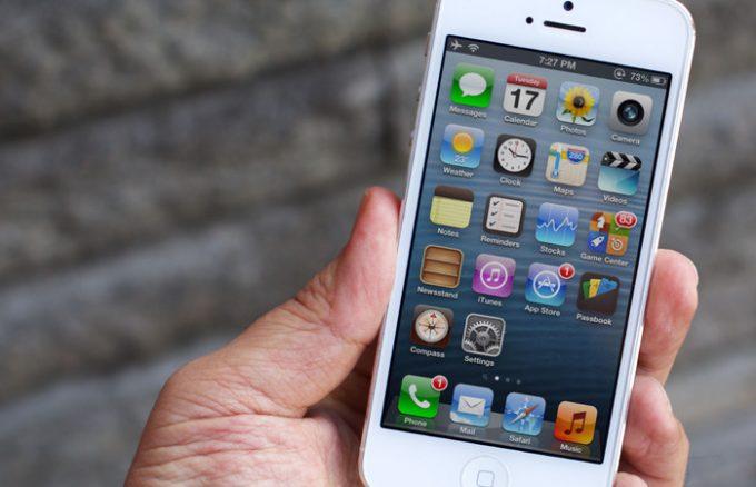 Tự khắc phục lỗi màn hình iphone 5 bị đen hiệu quả, đơn giản