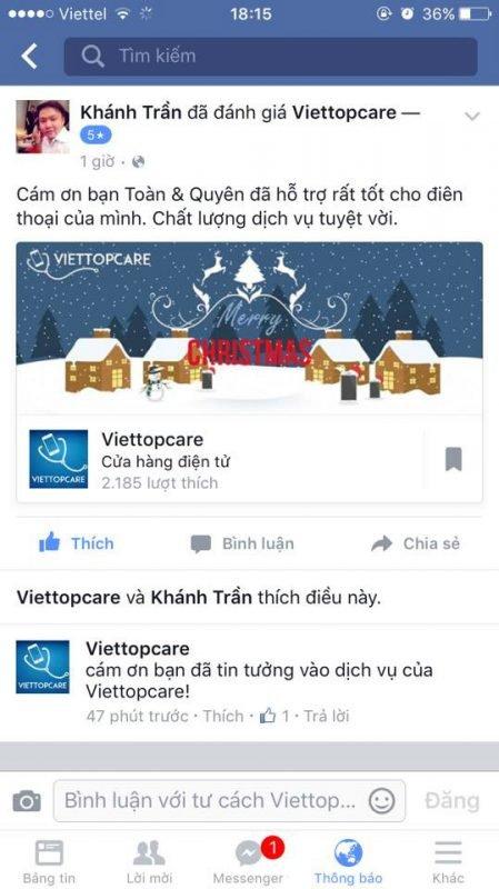 Viettopcare bước qua tin đồn lừa đảo bằng sự uy tín