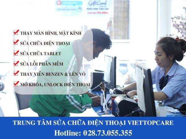 Trung tâm sửa chữa điện thoại Viettopcare