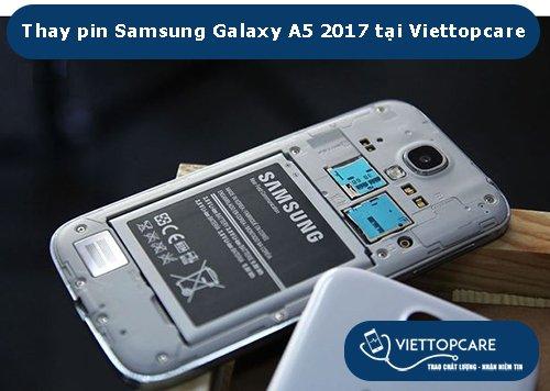 Thay pin Samsung Galaxy A5 2017-1