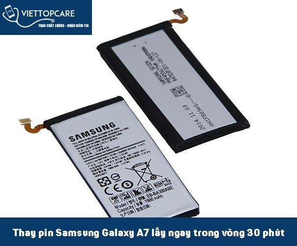 Thay pin Samsung Galaxy A7-2