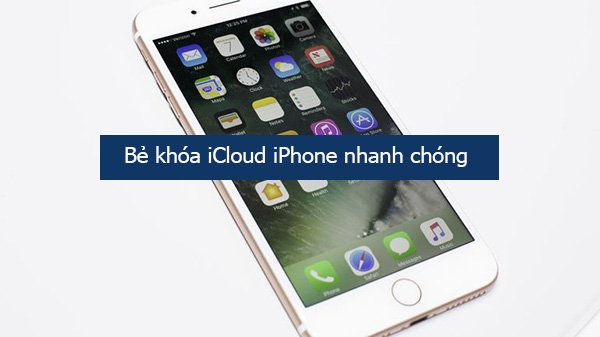 Dịch vụ mở tài khoản iCloud iPhone 7 Plus