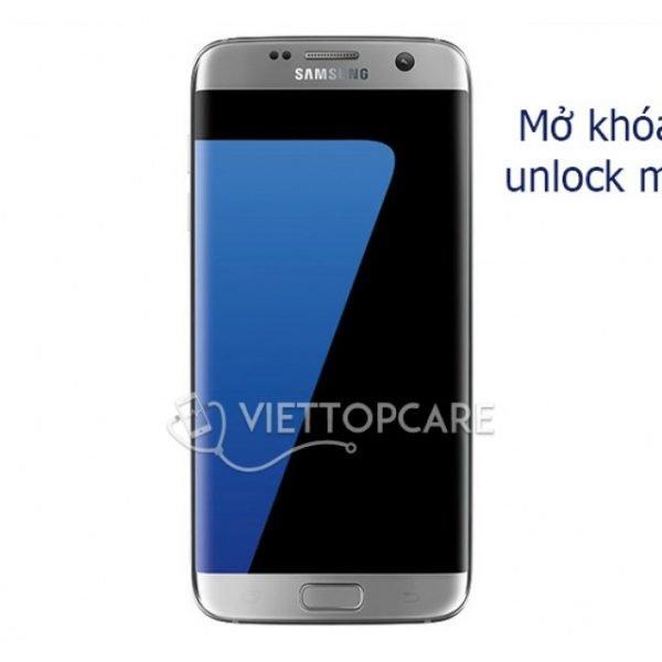 Dịch vụ unlock, mở mạng Samsung Galaxy S7