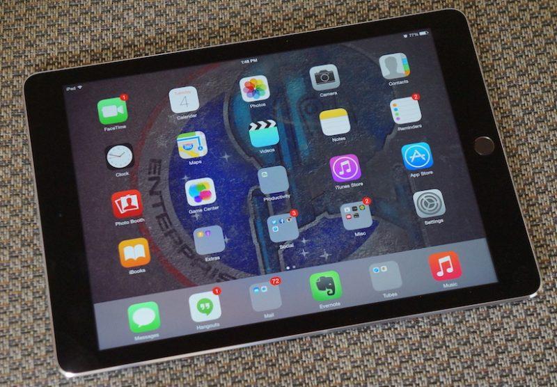 Khắc phục iPad Air 2 bị treo táo