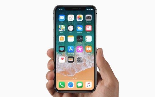 Khắc phục iPhone X sọc màn hình