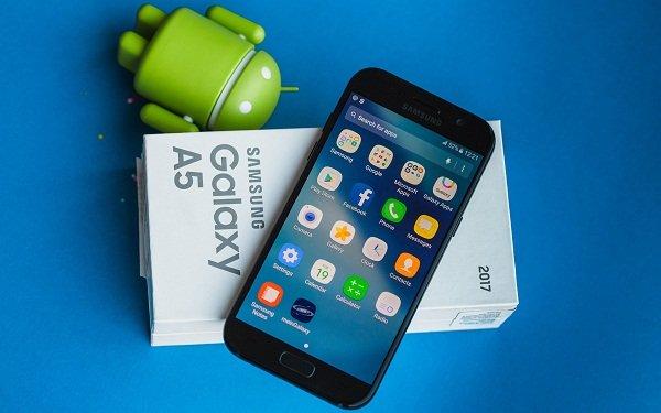 Khắc phục Samsung Galaxy A5 2017 bị treo logo nhanh chóng