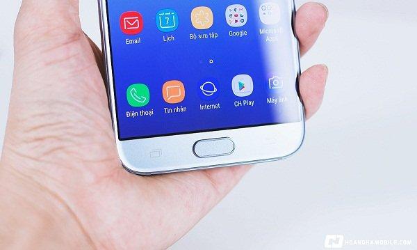 Khắc phục Samsung Galaxy J7 Pro bị rung nhanh chóng
