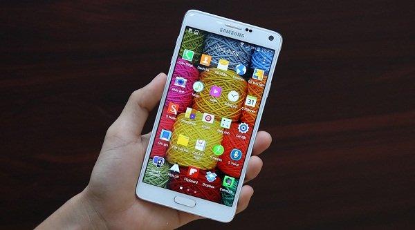 Khắc phục Samsung Galaxy Note 4 bị nóng máy nhanh chóng
