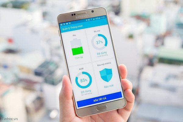 Khắc phục Samsung Galaxy Note 5 bị nóng máy nhanh chóng