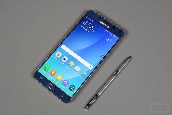 Sửa lỗi Samsung Galaxy Note 5 bị mất đèn màn hình nhanh chóng