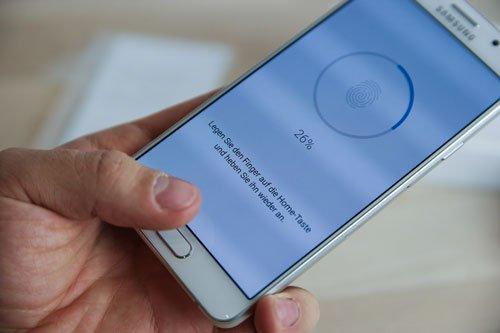 Sửa Galaxy A5 2016 bị lỗi cảm biến vân tay