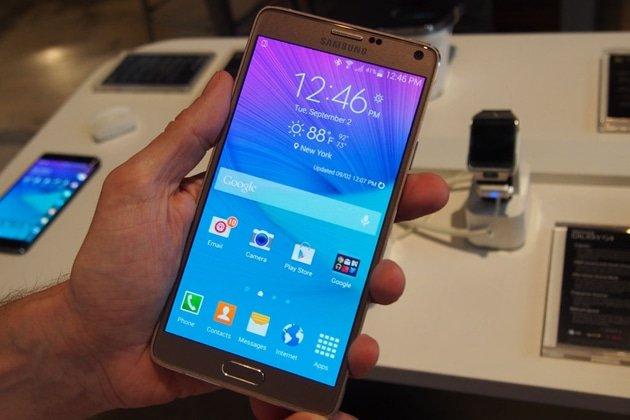 Sửa Galaxy Note 4 bị tắt nguồn
