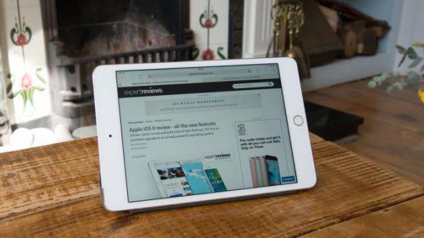 Sửa iPad mini 4 bị treo logo táo