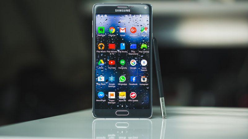 Sửa lỗi Galaxy Note 4 bị hư đèn flash