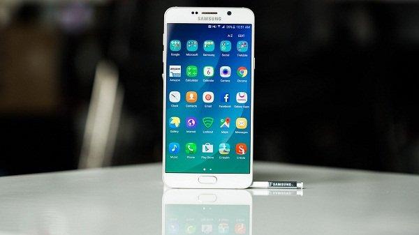 Sửa lỗi Samsung Galaxy Note 5 bị treo logo nhanh chóng