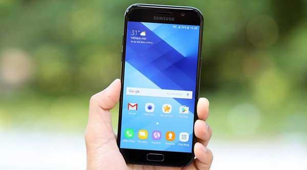 Sửa, thay cảm ứng Samsung Galaxy A5 (2017) nhanh chóng