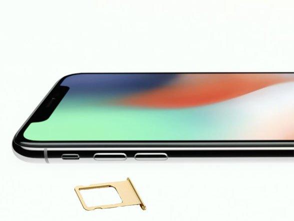 Thay khay sim iPhone X chất lượng