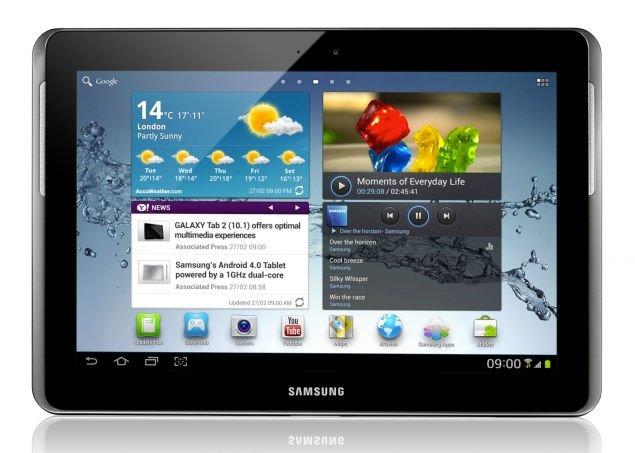 Thay mặt kính cảm ứng Samsung Galaxy Tab 2 10.1 ( P5100 )