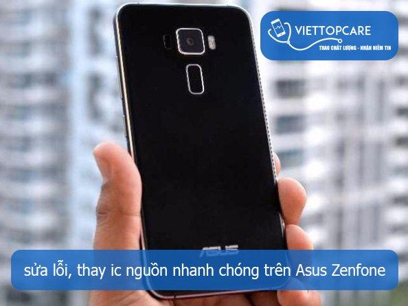 Khắc phục Asus Zenfone bị mất nguồn, lỗi nguồn nhanh chóng