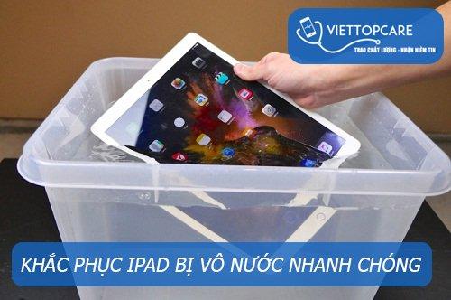 Khắc phục iPad bị vô nước