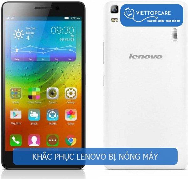 Khắc phục Lenovo bị nóng máy nhanh chóng