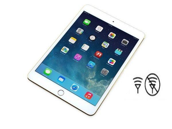 Sửa chữa iPad bị mất sóng nhanh chóng