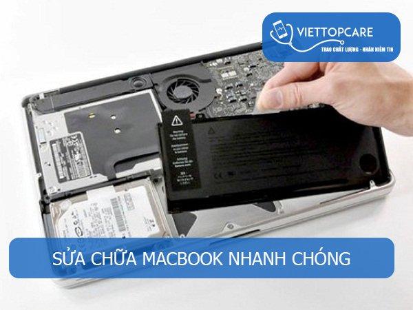 Sửa chữa Macbook nhanh chóng tại TP. HCM