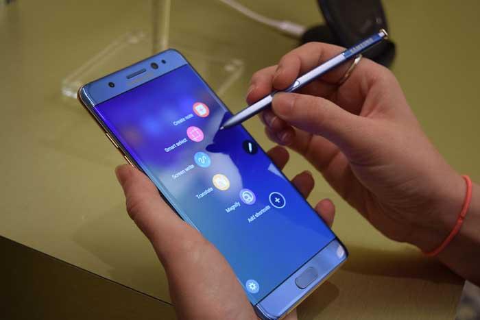 Sửa lỗi wifi Samsung Galaxy Note 8