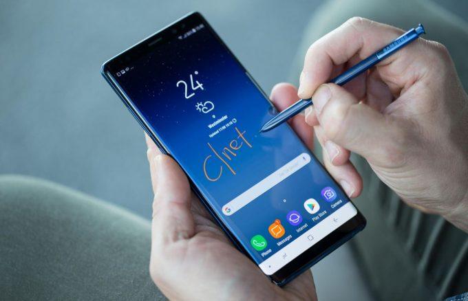 Tổng hợp những lỗi thường gặp trên Samsung Galaxy Note 8